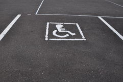 Wheel chair symbol Stock Photos
