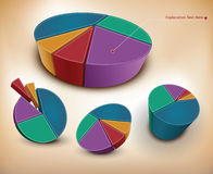 Wheel charts Stock Photo