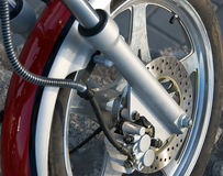 Wheel of chopper. Wheel of very fast chopper Stock Images