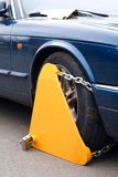 Wheel clamp Stock Photos