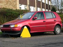 Wheel clamp 3 Stock Images