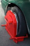 Wheel clamp Royalty Free Stock Photo