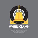 Wheel Clamp Side View Royalty Free Stock Photos