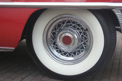 Wheel of a Classic Car Royalty Free Stock Image