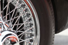 Wheel close up Royalty Free Stock Photo