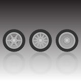 Wheel collection Royalty Free Stock Images