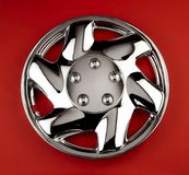 Wheel cover Stock Photography