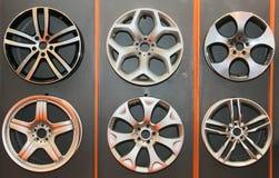 Wheel cover Stock Photo