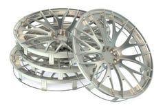 Wheel Covers Stock Photo