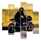 2 Wheel Cruisin Stock Photography