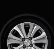 Wheel in the dark Stock Image