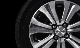 Wheel in the dark Royalty Free Stock Photo