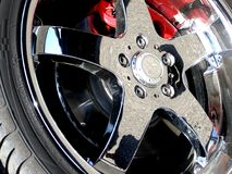 Wheel detail Royalty Free Stock Images