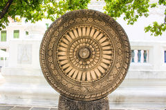 Wheel of Dharma Royalty Free Stock Images