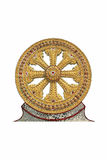 Wheel of Dharma in Thailand Royalty Free Stock Photo