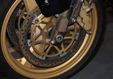 Wheel and Disc Brake. Royalty Free Stock Image