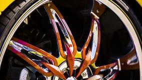 Wheel Disks Of Modern Original Design stock footage