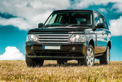 Black 4wd Landrover Royalty Free Stock Image