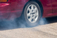 Wheel drive car Stock Photography