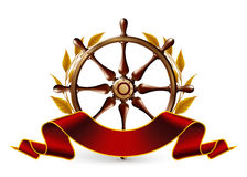 Wheel Emblem Stock Image