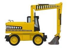 Wheel Excavator Stock Images