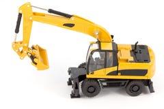 Wheel excavator Royalty Free Stock Image