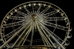 Wheel of Excellence Ferriswheel in Cape Town. Night view at the Wheel of Excellence in Cape Town. It was  South Africa's first observation wheel with 36 cabins Royalty Free Stock Photos