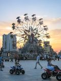 Wheel of Ferris in Albania Stock Photos
