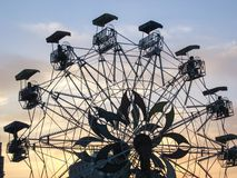 Wheel of Ferris Royalty Free Stock Images