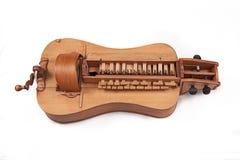 Wheel fiddle. Hurdy-gurdy stock photography