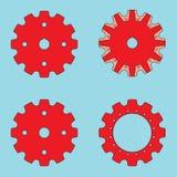 Sprocket wheel vector icon Stock Photography