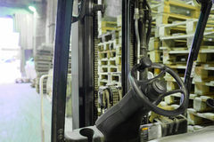 wheel forklift Royalty Free Stock Images