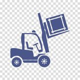 Wheel forklift icon vector. Web isolated Stock Photo