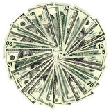 Wheel of fortune. Big money wheel of fortune Royalty Free Stock Image