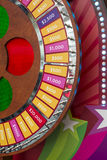 Wheel of Fortune. Colorful wheel of fortune with indicated amount of dollar Royalty Free Stock Photography