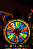 Wheel of fortune. Casino floor in Atlantic city, New Jersey Royalty Free Stock Photography