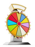 Wheel of fortune. 3D illustration Stock Photo