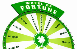 Wheel of fortune stock images
