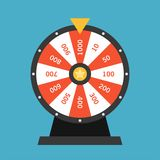 Wheel Of Fortune lottery luck Royalty Free Stock Images
