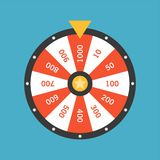 Wheel Of Fortune lottery luck Stock Photography