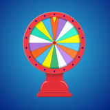 Wheel of fortune isolated Stock Photos