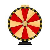 Wheel of Fortune, Lucky Icon with Place for Text. Vector Illustration. EPS10 Royalty Free Stock Images