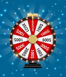 Wheel of Fortune, Lucky Icon with Place for Text. Vector Illustration. EPS10 Stock Photos