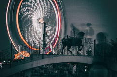 The wheel of fortune. Shot taken in Youth Park, Bucharest, Romania Stock Photography