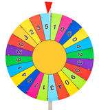 Wheel of Fortune Stock Photography