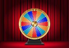 Wheel of fortune. Vector illustration stock illustration