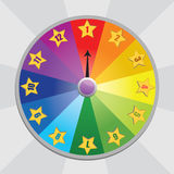 Wheel of fortunel. Vector illustration. royalty free stock images