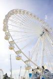 Wheel funfair. Big wheel in a funfair at paris Royalty Free Stock Image