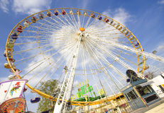 Wheel funfair stock images