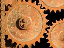 Wheel gear Royalty Free Stock Photo